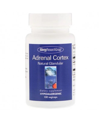 Adrenal Natural Glandular 150 Vegicaps - Allergy Research Group