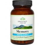 Memory - Mental Clarity (90 Veggie Caps) - Organic India