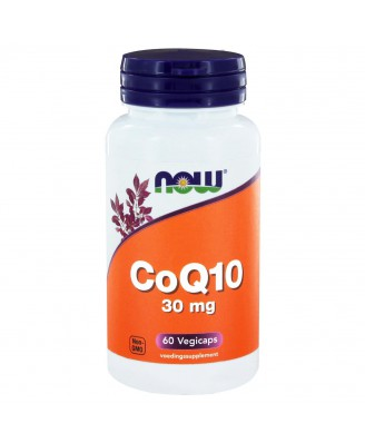 CoQ10 30 mg (60 veggie caps) - Now Foods