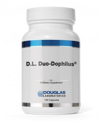 D.L. Duo Dophilus (100 capsules) - Douglas Laboratories