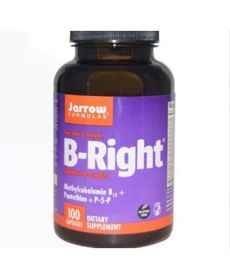 Vitamin B - B-Right, vitamine B-Complex (100 Capsules) - Jarrow Formulas