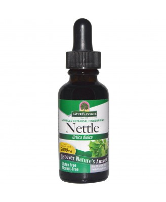 Nettle Leaf, Alcohol-Free, 2000 mg (30 ml) – Nature's Answer
