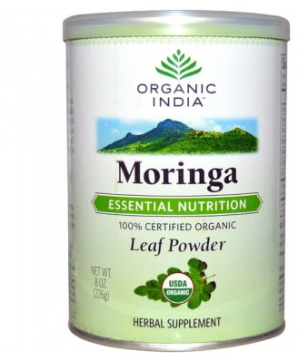 Organic India, Moringa, Leaf Powder, 8 oz (226 g)