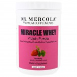 Miracle Whey eiwit poeder aardbei (454g) - Dr Mercola