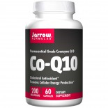 Co-Q10 200, 200 mg (60 Capsules) - Jarrow Formulas