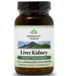 Liver Kidney Formula (90 Veggie Caps) - Organic India