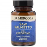 Dr. Mercola, Saw Palmetto with Lycopene, 30 Licaps