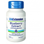 Blueberry Extract with Pomegranate - 60 vegetarian capsules - Life Extension