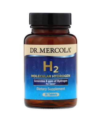 H2 Molecular Hydrogen 30 Tablets - Dr. Mercola