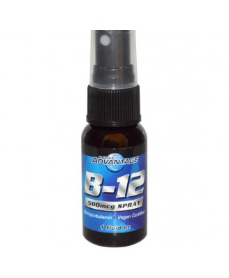 B12 Spray, 500 mcg (30ml) - Pure Advantage