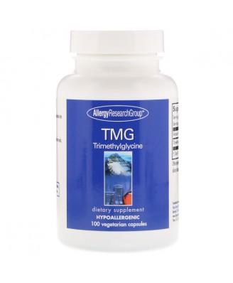 TMG Trimethylglycine 100 Vegetarian Capsules - Allergy Research Group