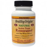 Healthy Origins, Resveratrol With Red Wine Extract, 300 mg, 60 Veggie Caps
