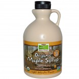 Organic Maple Syrup, Grade A, Medium Amber (946 ml) - Now Foods