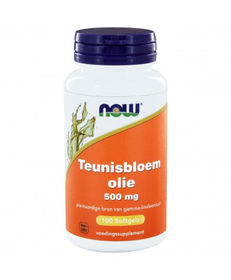 Teunisbloemolie 500 mg (100 softgels) - Now Foods