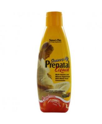 Prenatal Liquid, Natural Tropical Fruit Flavor (887 ml) - Nature's Plus