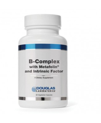 B-complex w/Metafolin® and Intrinsic Factor (60 vegetarian caps) -  Douglas Laboratories