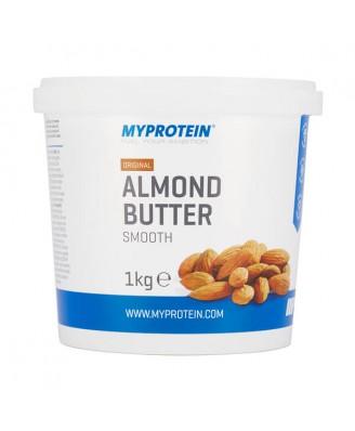 Almond Butter Smooth - Tub - 1kg - MyProtein