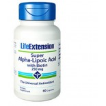 Super Alpha-Lipoic Acid With Biotin 250 Mg - 60 Capsules - Life Extension