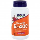 Now Foods, E-400, 100% Natural Mixed Tocopherols, 100 Softgels