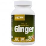 Ginger 500 mg (100 Capsules) - Jarrow Formulas