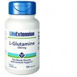 L-Glutamine  500 mg - 100 capsules - Life Extension