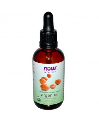 Organic Argan Oil (59 ml) - Now Foods