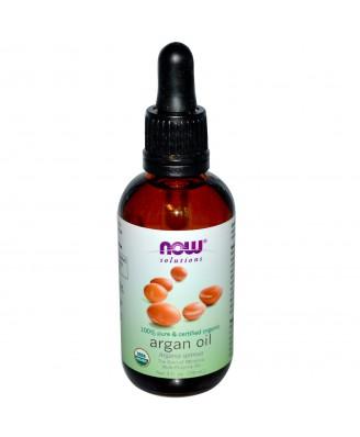 Now Foods, Solutions, Organic Argan Oil, 2 fl oz (59 ml)