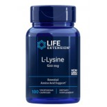 L-Lysine 620 mg 100 Vegetarian Capsules - Life Extension