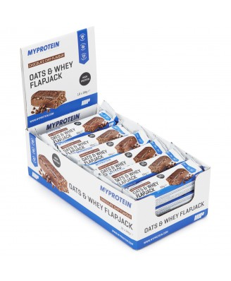 MyBar Oats & Whey - Chocolate Peanut (18 Bars) - MyProtein