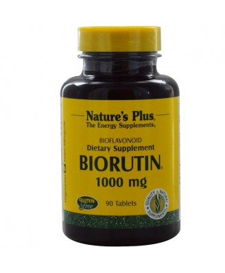 Biorutin 1000 mg (90 Tablets) - Nature's Plus