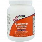 Sunflower Lecithin Pure Powder (454 gram) - Now Foods