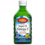 Norwegian Super D Omega3 Lemon Flavor (250 ml) - Carlson Laboratories