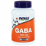 GABA 500 mg met vitamine B6 (100 capsules) - Now Foods