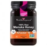 Biologische Rauwe Manuka Honing, Actief 16+ (500 g) - Wedderspoon Organic