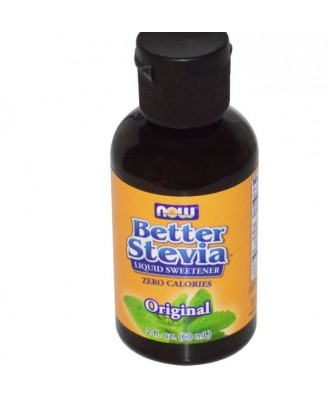 Better Stevia, liquid extract (60 ml) - Now Foods