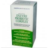 American Health, Enzyme Probiotic Complex, 90 Veggie Caps