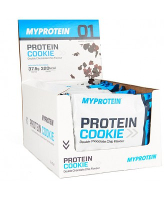 MP Max Protein Cookie, Double Chocolate Chip, Box, 12 x 75g - MyProtein