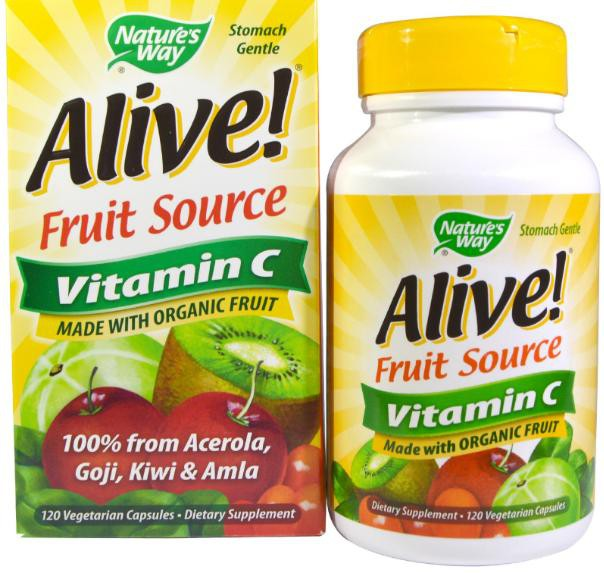 alive way nature vitamin food vitamine whole complex vcaps natures