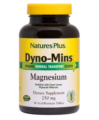 Dyno-Mins- Magnesium- 250 mg (90 Tablets) - Nature's Plus