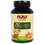 Pets - Pet Allergy (75 chewable tablets) - Now Foods
