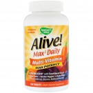Alive! Max3 Daily  Multi-Vitamin with Iron 180 Tablets - Nature's Way
