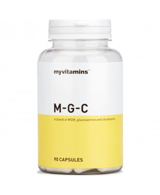Myvitamins MSM, Glucosamine & Chondroitin, 270 Capsules (270 Capsules) - Myvitamins