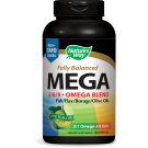 MAXIMALE STERKTE OMEGA 3/6/9 MIX, LIMOEN SMAAK, 1350 MG (180 GELCAPSULES) - NATURE'S WAY