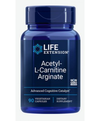 Acetyl-L-Carnitine Arginate (90 Veggie Capsules) - Life Extension