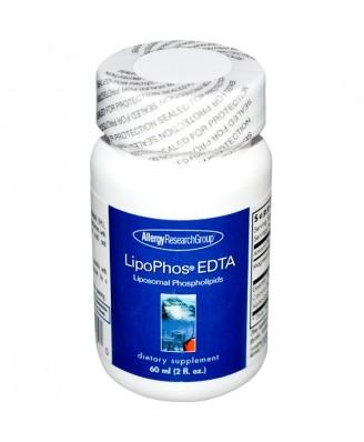 LipoPhos EDTA Liposomal Phospholipids 2 fl oz (60 ml) - Allergy Research Group