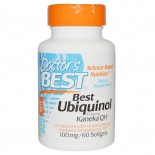 Doctor's Best, Best Ubiquinol, Featuring Kaneka QH, 100 mg, 60 Softgels