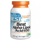 Doctor's Best, Best Alpha-Lipoic Acid, 600 mg, 180 Veggie Caps
