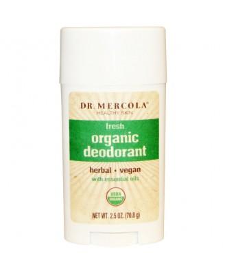 Organic Deodorant Fresh (70.8 g) - Dr. Mercola