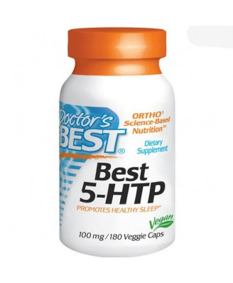 Best 5-HTP 100 mg (180 Veggie Caps ) - Doctor's Best