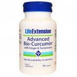 Life Extension, Advanced Bio-Curcumin with Ginger & Turmerones, 30 Softgels